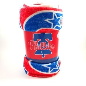 New MLB Philadelphia Phillies Plush Throw Blanket